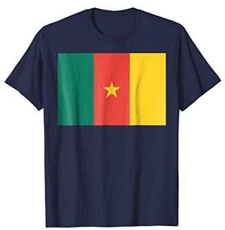 Flag of Cameroon T-shirt Tee Tees T Shirt Tshirt