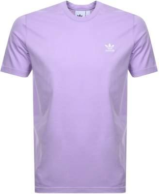 adidas Essential T Shirt Lilac
