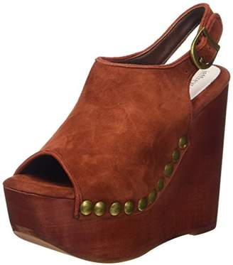 Snick 2 Suede, Womens Open-Toe Heeled Shoes Jeffrey Campbell