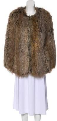Trina Turk Faux Fur Short Coat