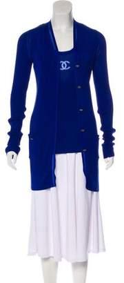 Chanel Rib Knit Cardigan Set