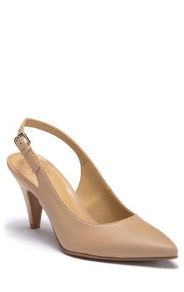 Naturalizer Morgan Slingback Leather Pump - Wide Width Available
