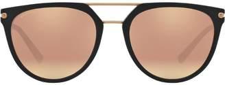 Bulgari round aviator sunglasses