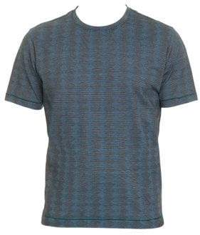 Robert Graham Zig Zag Print T-Shirt
