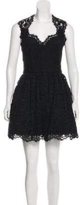 Alexis Sleeveless Lace Mini Dress