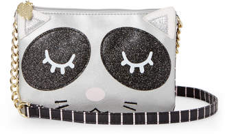 Betsey Johnson Luv Betsey By Slate Doublz Kitten Crossbody