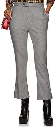 R 13 Women's Kick Wool-Blend Flannel Trousers