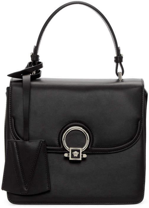 Versace Black Medium Medusa The DV Bag