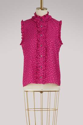 Vanessa Seward Frou-Frou silk shirt
