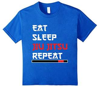 Eat Sleep Jiu Jitsu Repeat
