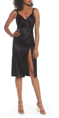 Jill Stuart Satin Sheath Dress