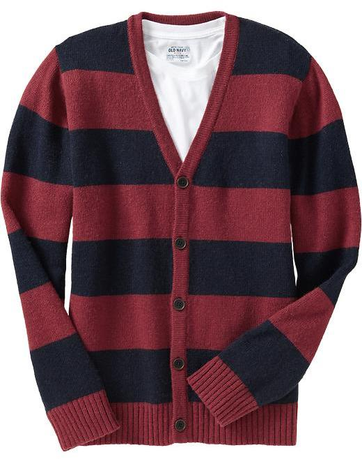 Old Navy Men's Striped Cardigans