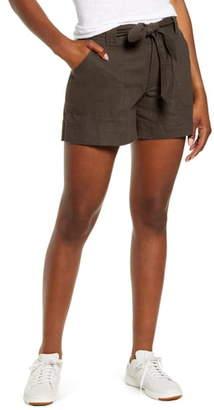 Wit & Wisdom High Waist Belted Shorts