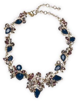 Club Monaco Erickson Beamon Navy Necklace