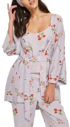 Topshop Poppy Print Robe