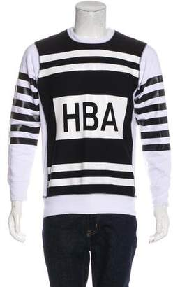 Hood by Air Logo Graphic Sweatshirt