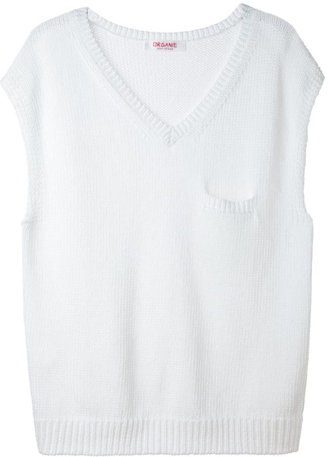 Organic by John Patrick 1-pocket pullover