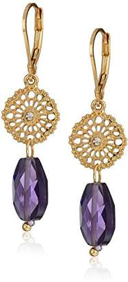 lonna & lilly Gold-Tone and DBL Drop Earrings