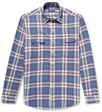 Polo Ralph Lauren Checked Cotton-Flannel Shirt