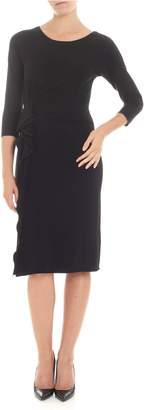 Emporio Armani Rouched Dress
