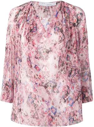 IRO ipomea floral blouse