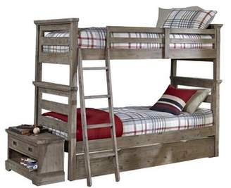 Viv + Rae Bryon Twin Over Twin Bunk Bed with Trundle