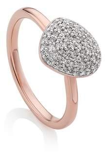 Monica Vinader Nura Small Pebble Stacking Ring