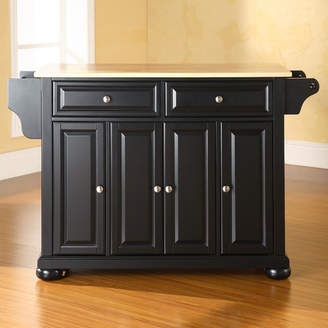 Co Darby Home Pottstown Kitchen Island with Solid Wood Base