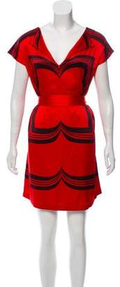 Marc by Marc Jacobs Marc Jacobs Printed Silk Dress