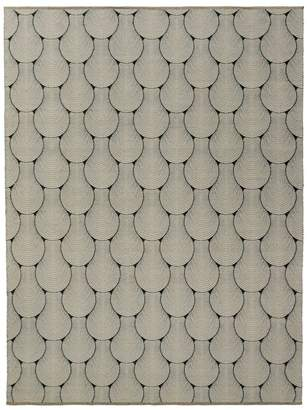 GRIT&ground Sea Shell Area Rug, 5' x 8'