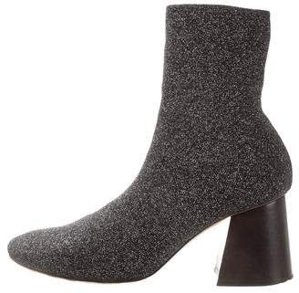 Celine Soft Ballerina Sock Ankle Booties w/ Tags