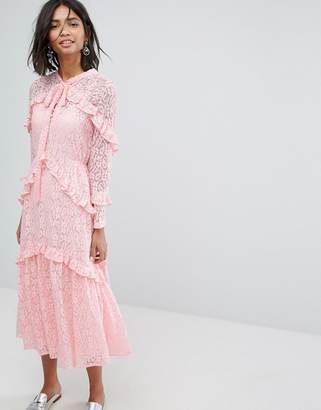 Sister Jane Lace Midi Dress