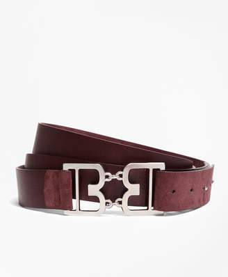 Brooks Brothers Suede Double-Wrap Belt