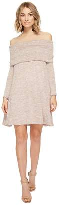 Culture Phit Kalea Off the Shoulder Sweater Dress Women's Dress