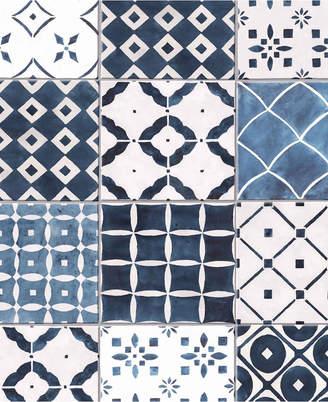 Graham & Brown Porches Blue Wallpaper