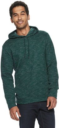 Marc Anthony Men's Quilted Pullover Hoodie