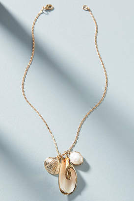 Anthropologie Collecting Shells Pendant Necklace