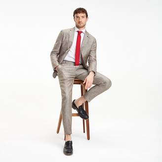 Slim Fit Linen Suit