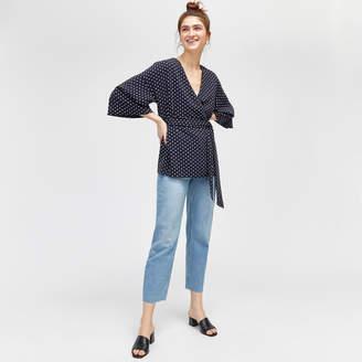 Warehouse Polka Dot Kimono Jacket