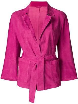 Sylvie Schimmel tie-waist jacket