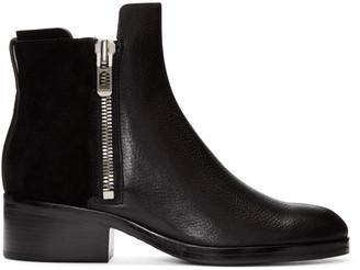 3.1 Phillip Lim Black Alexa Ankle Boots $550 thestylecure.com