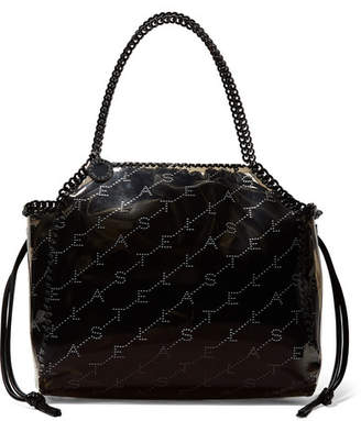 Stella McCartney The Falabella Faux Leather And Pu Tote - Brown