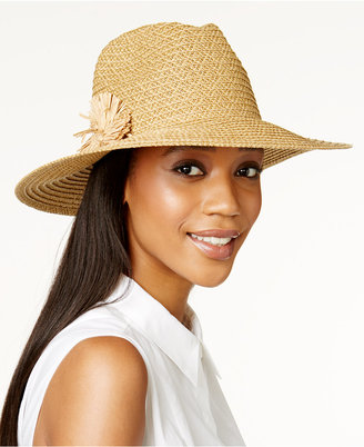August Hats Flower Fields Large Fedora $32 thestylecure.com