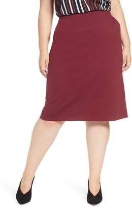 Halogen Knit Midi Skirt