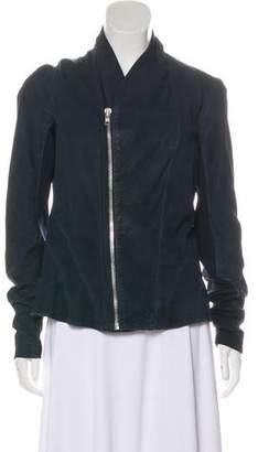 Rick Owens Princess Biker Leather Jacket w/ Tags