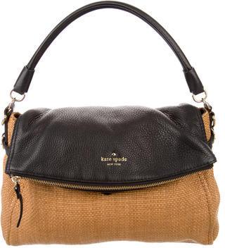 Kate SpadeKate Spade New York Cobble Hill Straw Small Leslie Bag