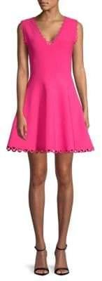 Milly Eyelet Flare Dress