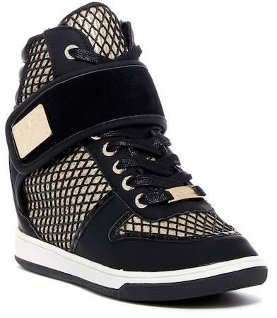 bebe Calisto Hidden Wedge Sneaker