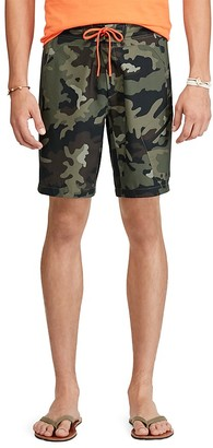 Polo Ralph Lauren Camouflage Swim Trunks $85 thestylecure.com
