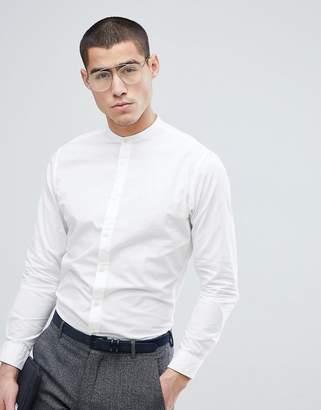 Selected Slim Grandad Shirt